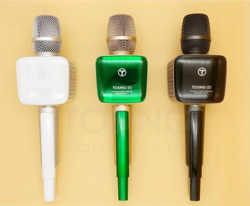 Логотип на микрофоне Tosing V1 PRO