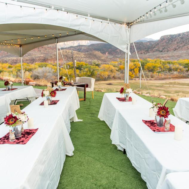 destination wedding venue in southern ut