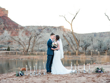 Love is in the air at Zion National Park: Top proposal and wedding areas in Zion