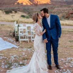 wedding at zion red rock chalet.jpg
