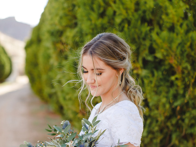 Zion National Park Wedding Bride.JPG