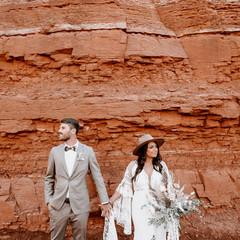bride and groom portraits near zion.jpg