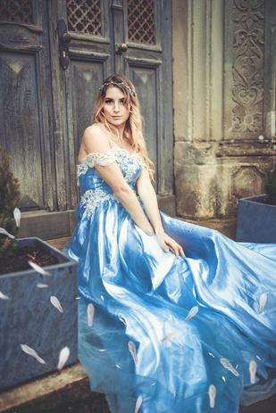 Prinzessin Licht- und Farbenspiel Fotografie Mölln Hamburg