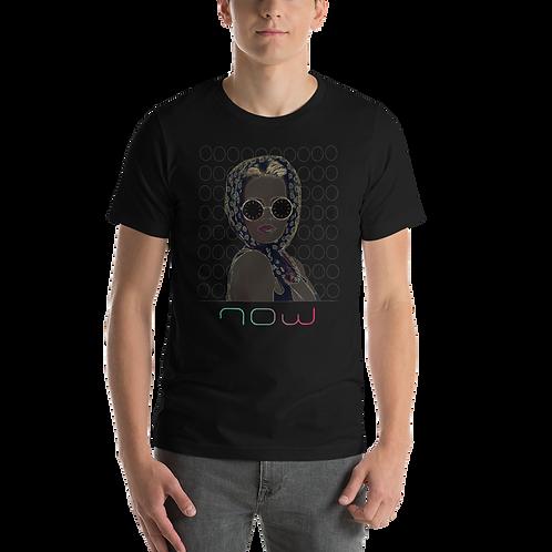 Woman-Shades-Scarf-Glam-Now-Short-Sleeve Unisex T-Shirt