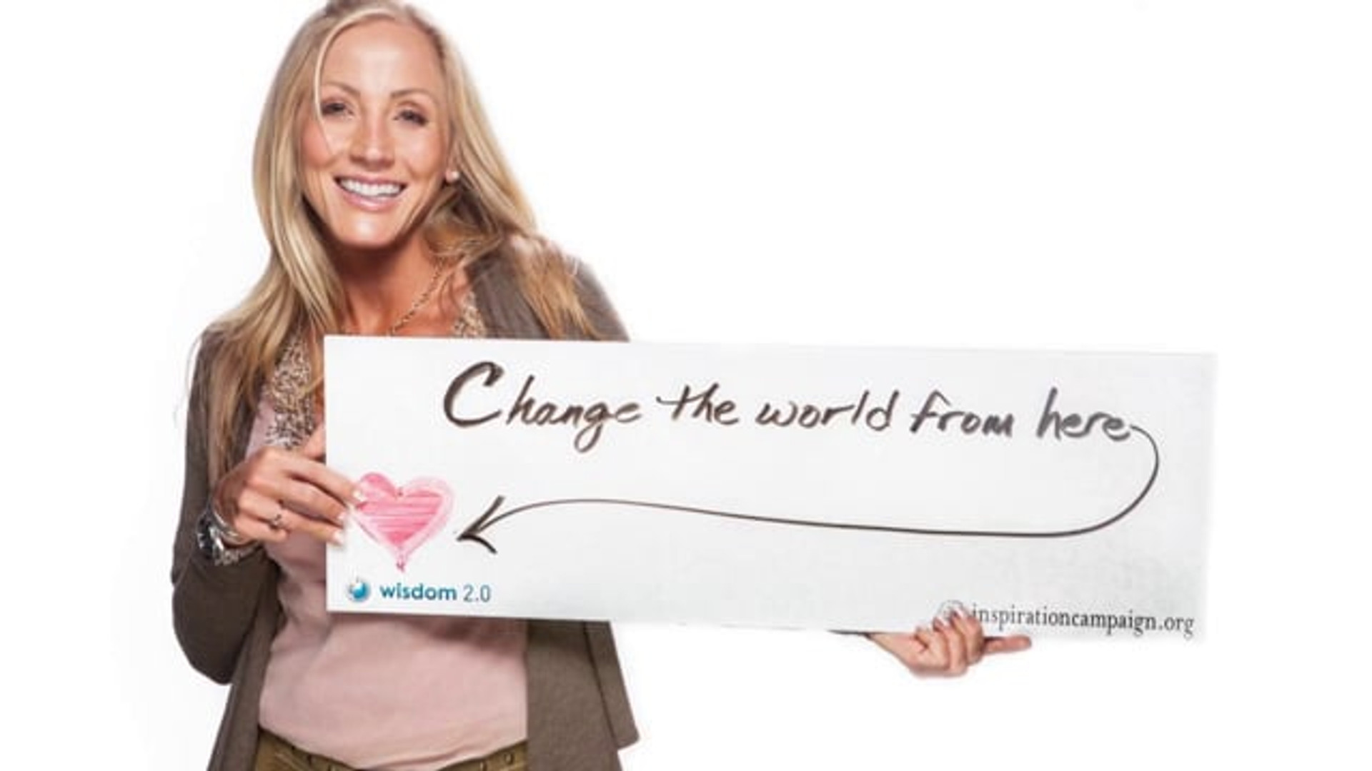 Inpiration Campaign - Crowd funding for positive media ads. What's your message event.