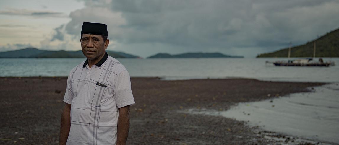 Mabapura Headman, East Halmahera.