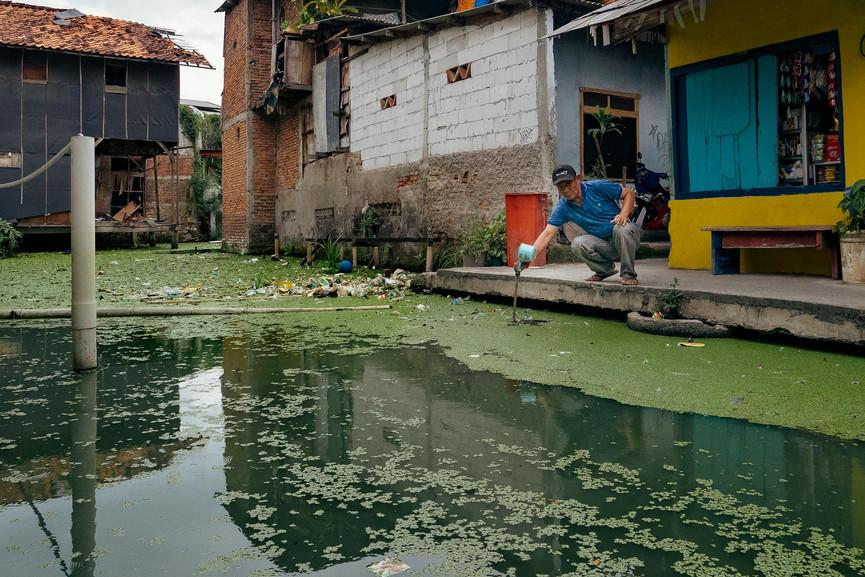 Watching Jakarta Slowly Sink
