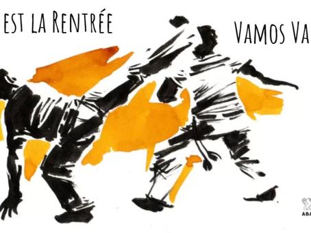 C'est enfin la rentrée de la capoeira!