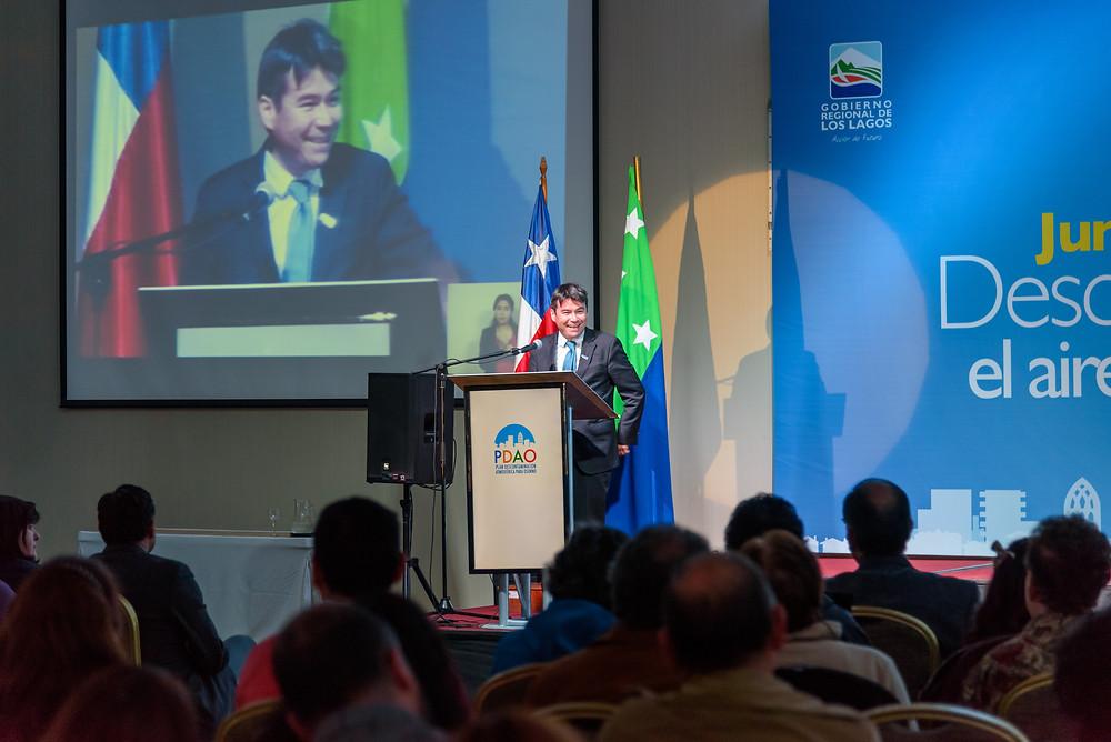 Subsecretario de Medio Ambiente Marcelo Mena