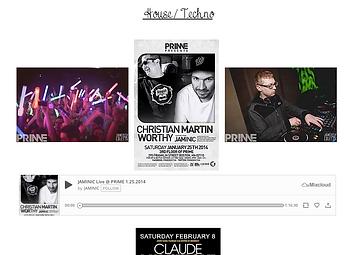 DJ mixes screenshot