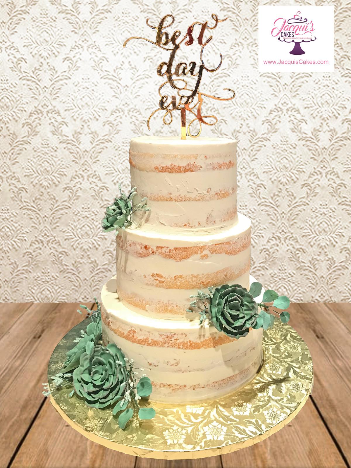 Jacqui\'s Cakes | Buttercream Wedding Cakes