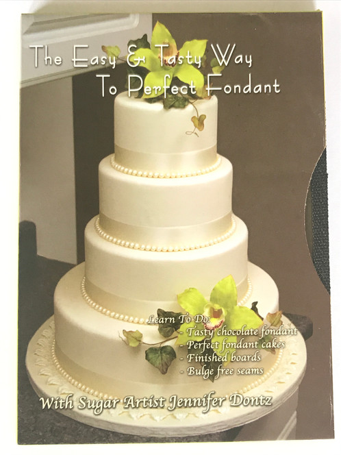 The Easy and Tasty Way to Perfect Fondant, DVD