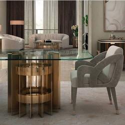 #livingroomideas by #ineditomilano.jpg Table - Rockfeller, chair - Scarlett.jpg Designed by fabulous