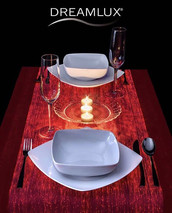 Make your dinner full of #romance and #love with #dreamlux #tablecloth. Got questions_! 📬 Email us_ agency_smartline.name.jpg