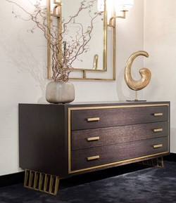 #chestofdrawers from #inedito. Model - Hamptons. #downtown #collection. Chest of drawers in wood
