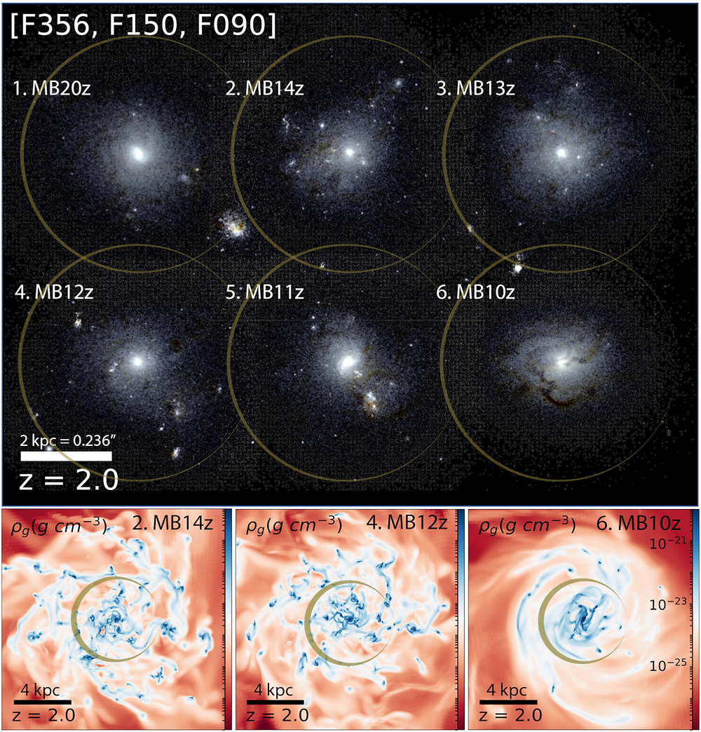 Magnetic fields galaxy galaxies shrink shrinking compact compatification astrophysics cosmology