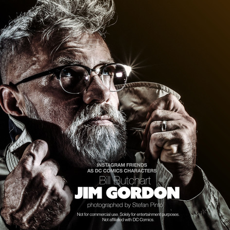 Bill Butchart as Jim Gordon