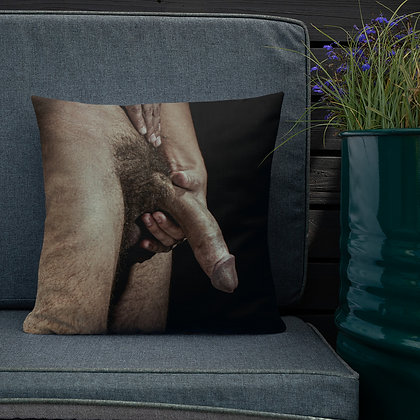 """Hands On"" Premium Pillow"