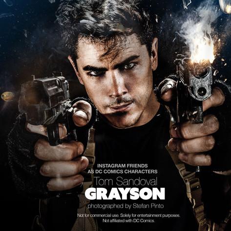 Tom Sandoval as Grayson