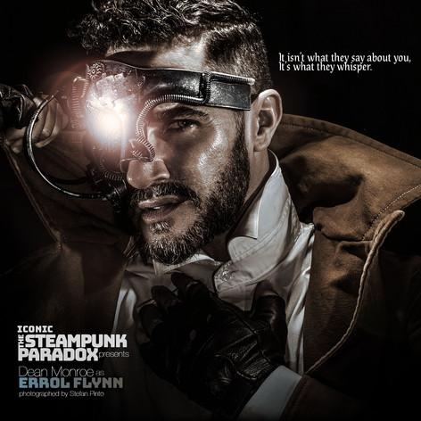Dean Monroe as Errol Flynn