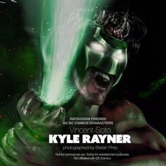 Vincent Soto as Kyle Rayner