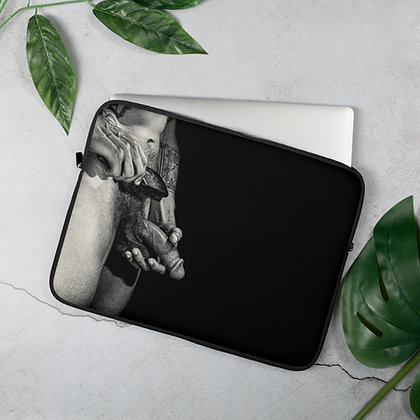 """Hands On"" Laptop Sleeve"