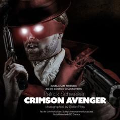 Patrick Schweiker as Crimson Avenger