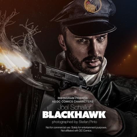 Joel Schaller as Blackhawk