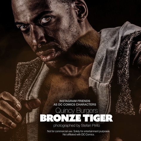 Quincy Burgers as Bronze Tiger