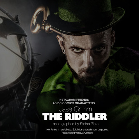 Jase Grimm as The Riddler