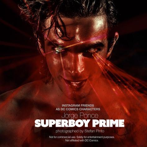 Jorge Ponce as Superboy Prime