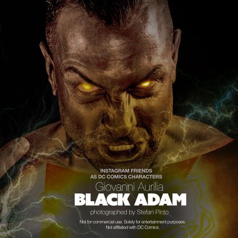 Giovanni Aurilia as Black Adam