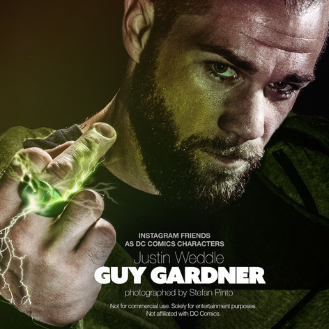 Justin Weddle as Guy Gardner