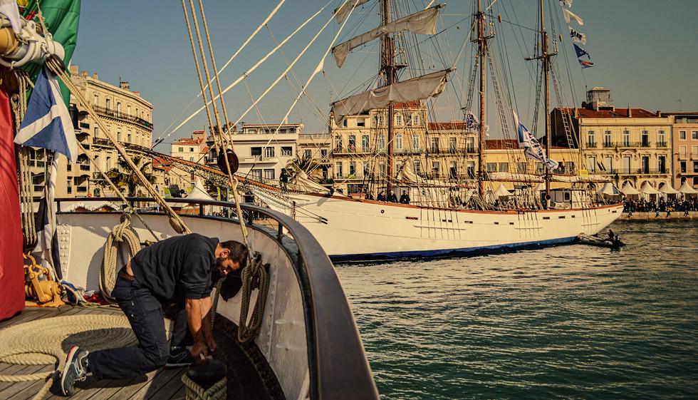 Escale à Sète by Stefan Pinto