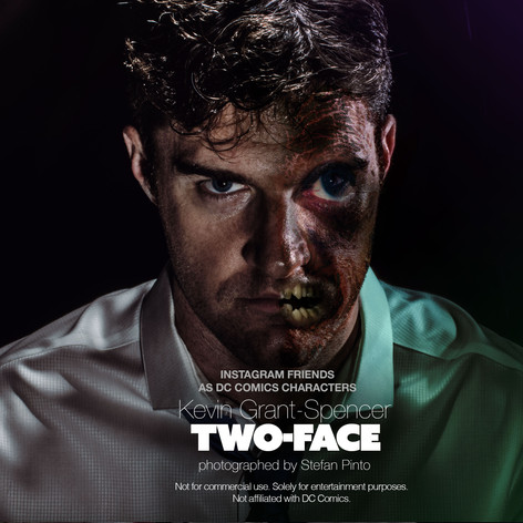 Kevin Grant Spencer as Two Face