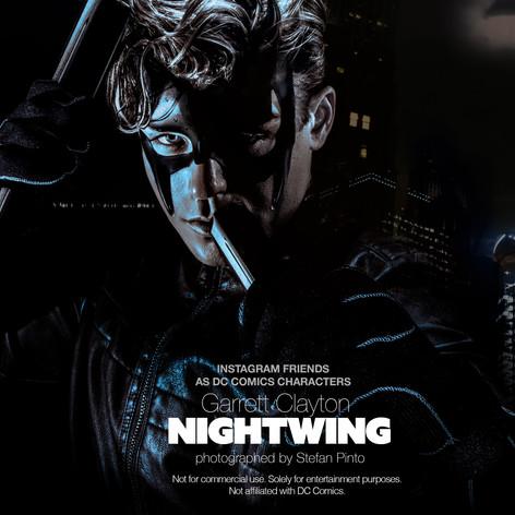 Garrett Clayton as Nightwing