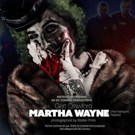 Gert Crawford as Martha Wayne (Flashpoint Paradox)