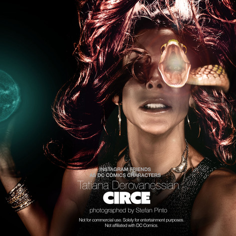Tatiana Derovanessian as Circe