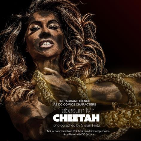 Tabsum Mir as Cheetah