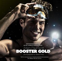 Adam Paul Spott as Booster Gold