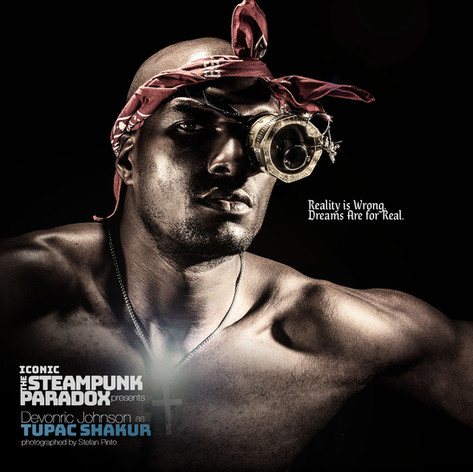 Devonric Johnson as Tupac Shakur