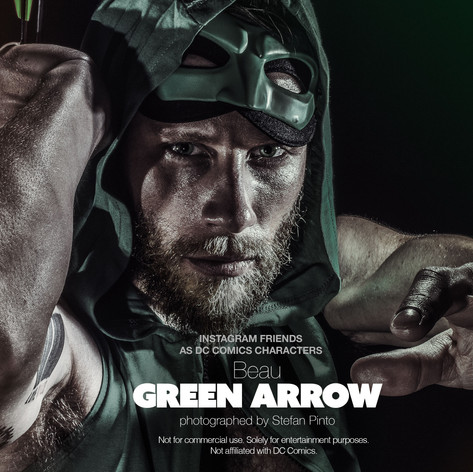 Beau as Green Arrow