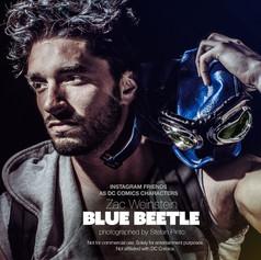 Zac Weinstein as Blue Beetle