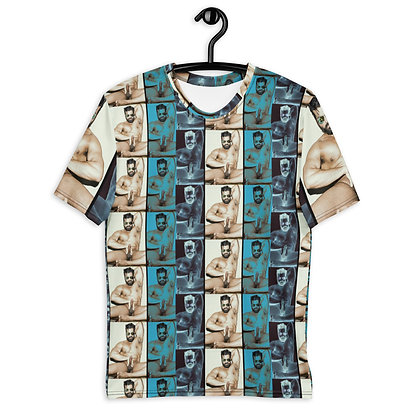 At Play Fitted Men's T-shirt