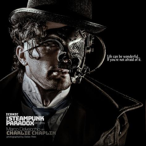 Marco Delvecchio as Charlie Chaplin