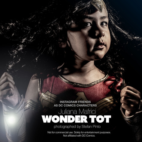 Juliana Mafrici as Wonder Tot