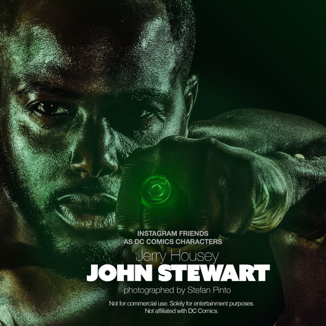 Jerry Housey as John Stewart