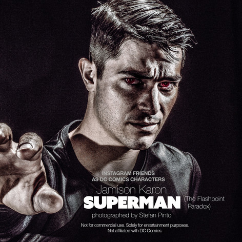 Jamison Karon as Superman (Flashpoint)