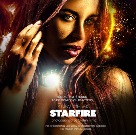 Zulay Henao as Starfire