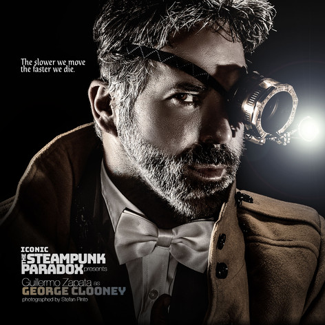 Guillermo Zapata as George Clooney